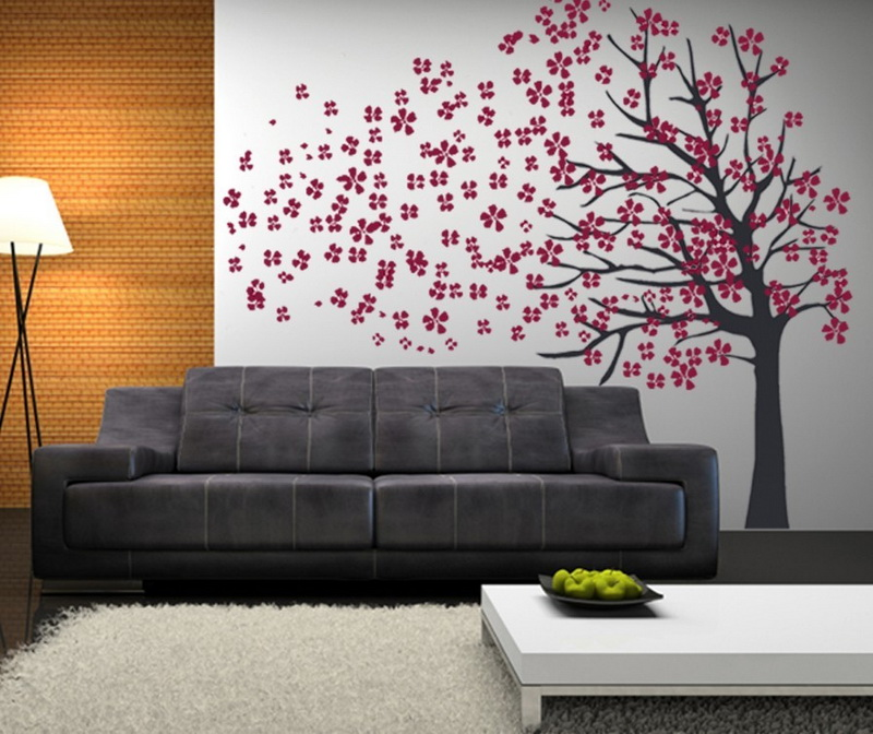 Decorating Ideas of Wall Decals for Living Room