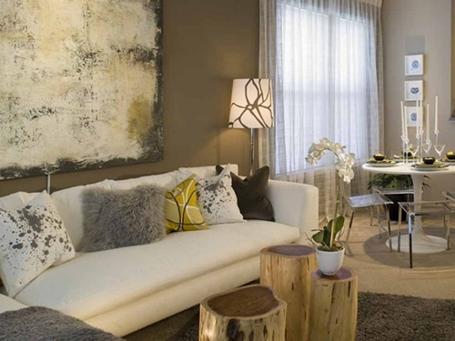 Ideas to Choose Colors to Paint Living Room 9